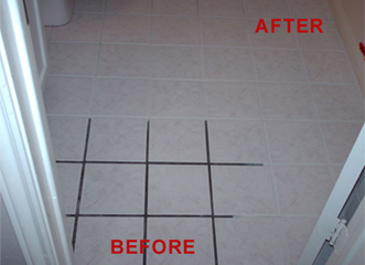 changing grout color color sealing