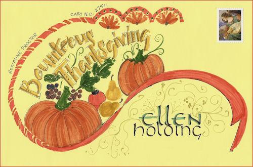 Ellen Holding envelope