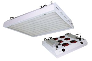 S3 600w Product Image top and bottom Commercial LED Grow Light