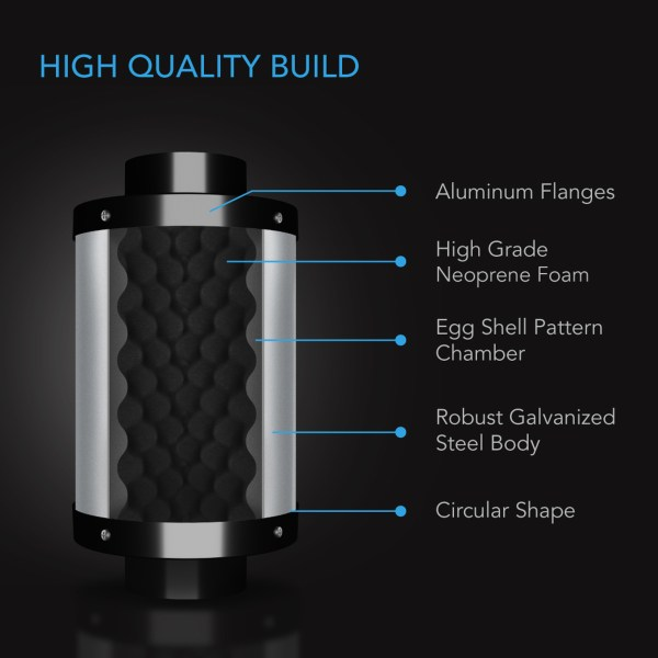 High Quality Build Duct Silencer