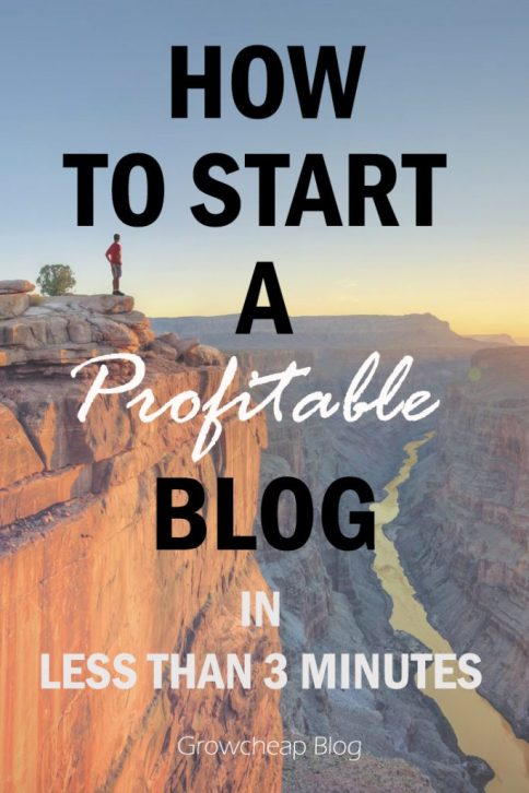 How To Start A Blog In 3 Minutes? The Ultimate Guide #Blogging #Income #Content