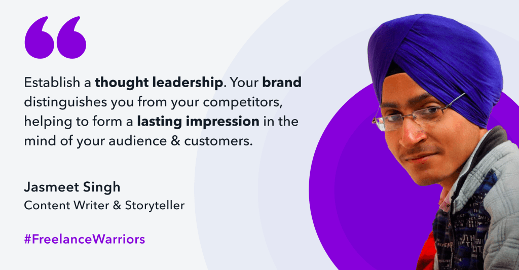 Jasmeet is a content writer, storyteller, & a personal brand builder. He is an introvert who found his solace in writing & turned his passion into a profession.