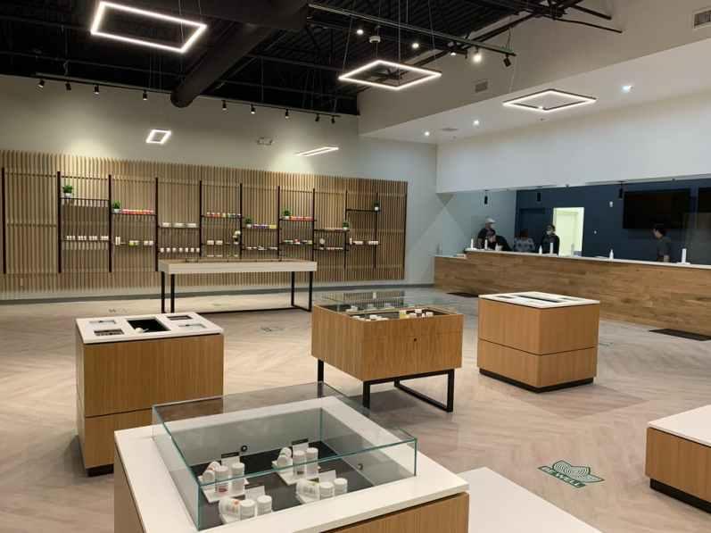 Stocked Cannabis Dispensary