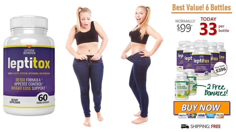 Leptitox supplement review: Leptitox Nutrition Weight Loss Supplement