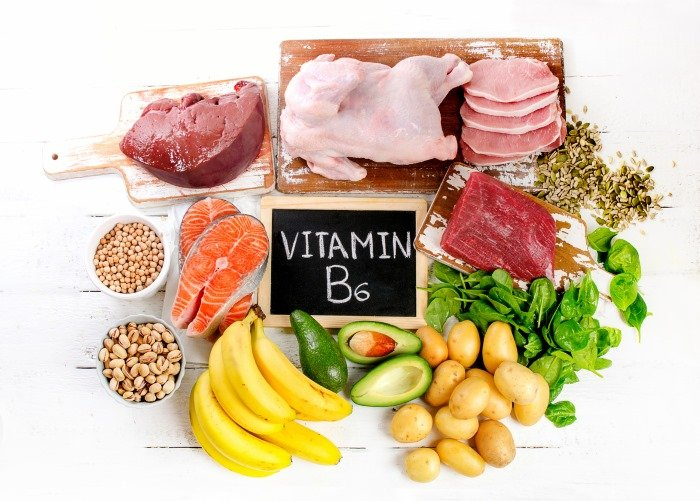 What are the benefits of vitamin B6? Symptoms of vitamin B6 deficiency?