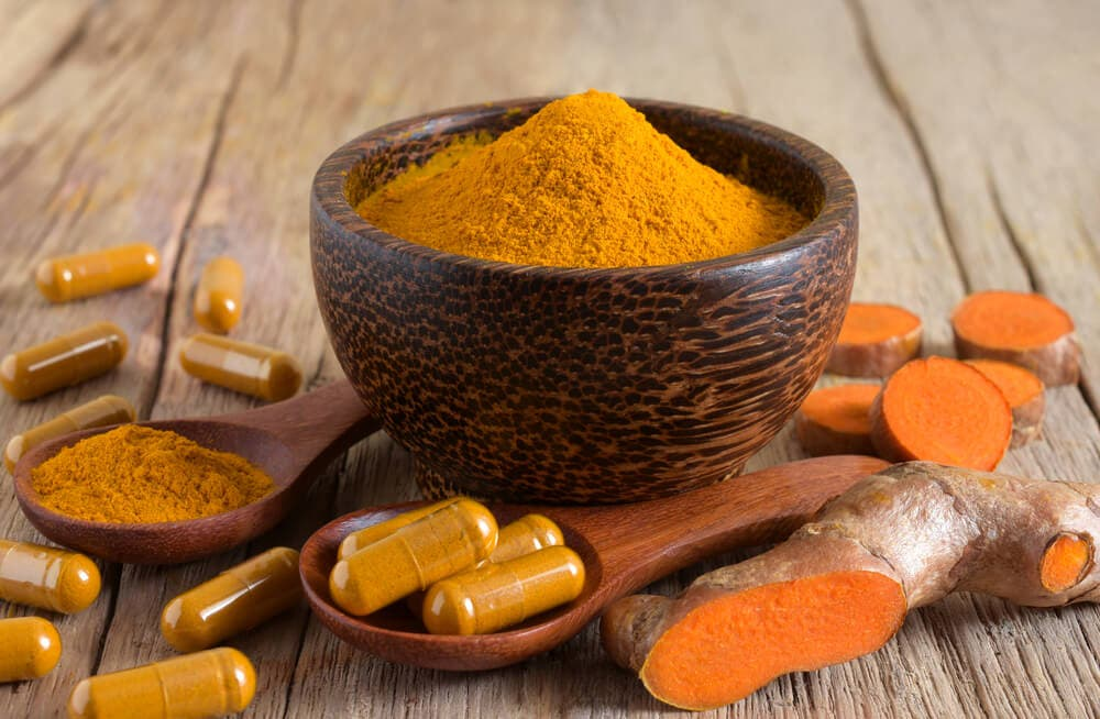 Curcumin is the active ingredient in turmeric. Animal studies show that curcumin, which has powerful anti-inflammatory effects, may be effective in supporting immune function.