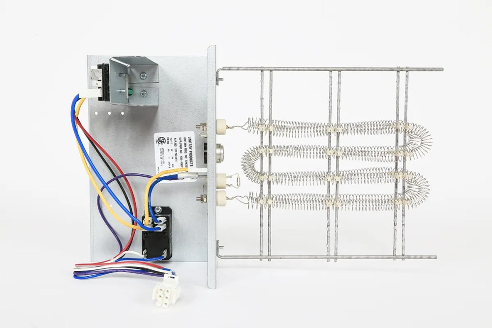 medium resolution of ideal air electric heat strip without circuit breaker 5 kw 208 230 volt direct from growers house
