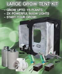 Large Grow Tent Kits, Full Soil or Coco Grow Kit