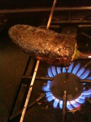 stuffed jalapeno pepper recipe, charred jalapeno pepper