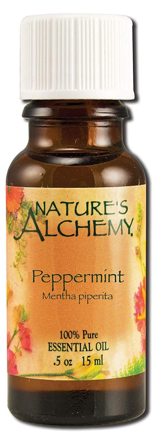 Nature's Alchemy Peppermint Oil on Amazon