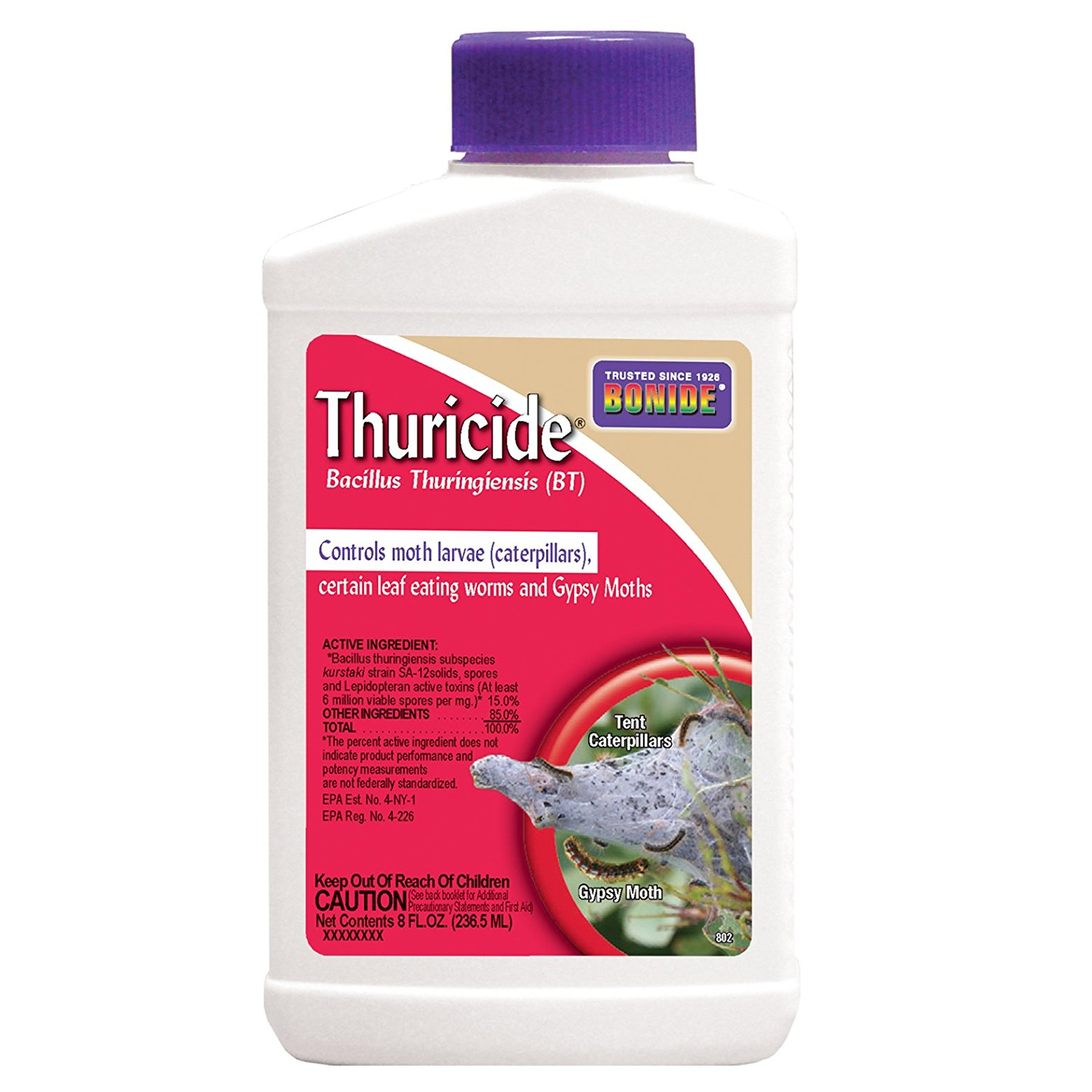 Bonide Thuricide Bt Insect Killer on Amazon