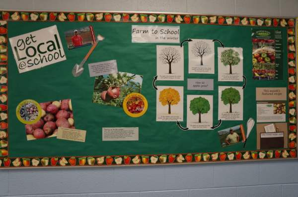 School Cafeteria Bulletin Boards