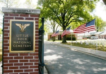Front Gate at Little Rock National Cemetery