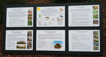 Info Board for Front large Garden