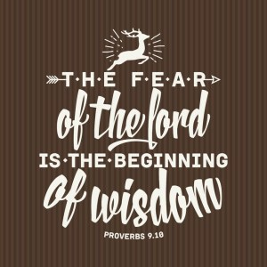 Discipleship Devotional Study Guide - Wisdom - Proverbs 1:7 - The Fear Of The Lord? - Growing As Disciples