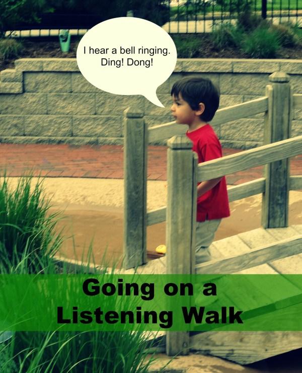Listening Walk Part Of 100 Days Play Series
