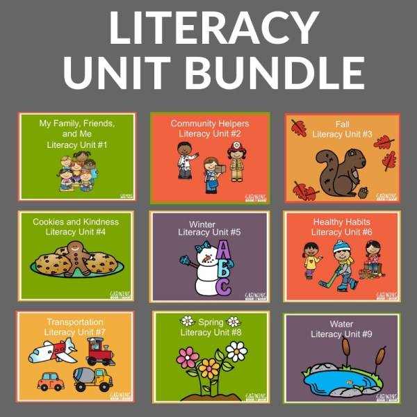 9 UNITS OF LESSON PLANS FOR PRESCHOOLERS