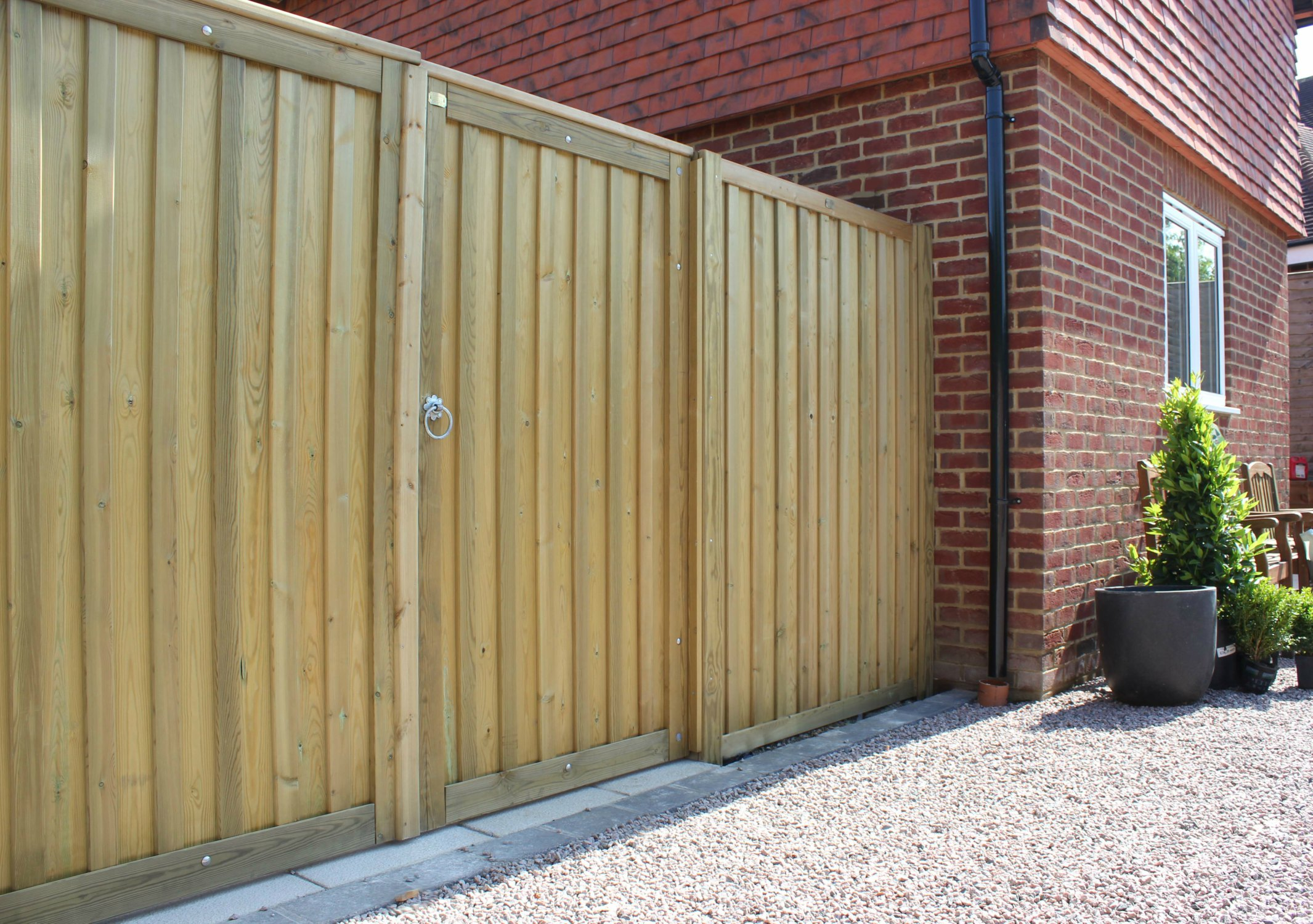 Images Of Garden Fences And Gates With Panels