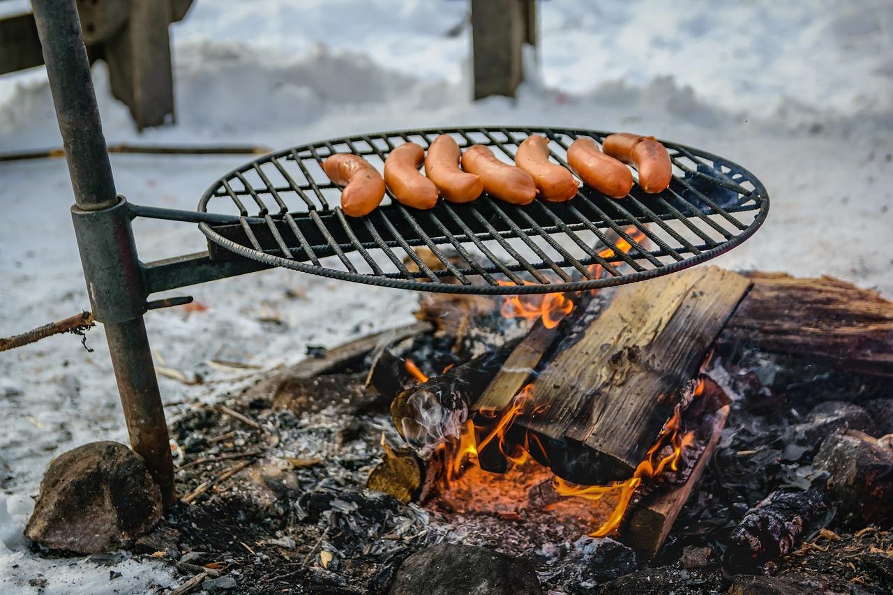 Kids camping food
