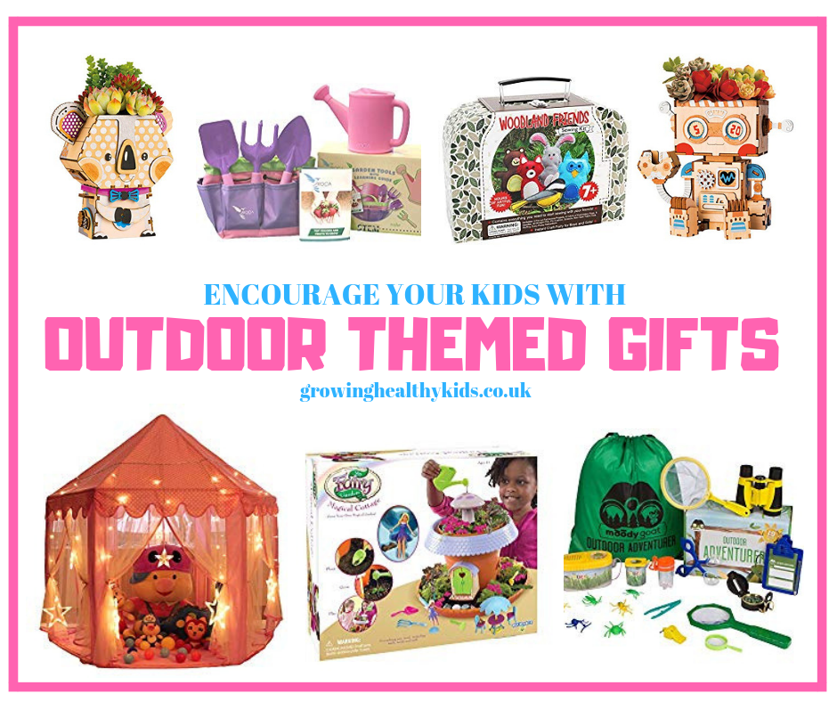 Some fantastic outdoor gifts for kids,evelope a love of gardening, wildlife and the great outdoors.