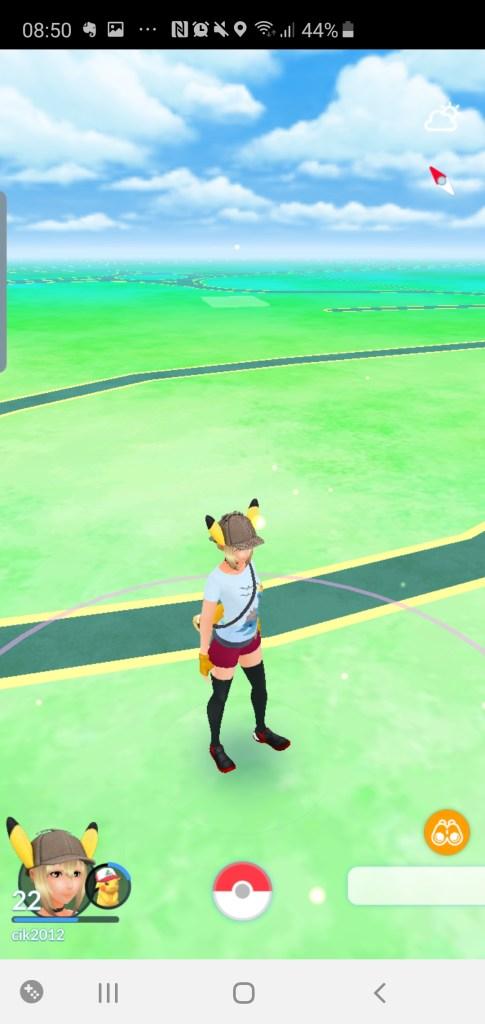 Pokemon screen shot for apps for kids