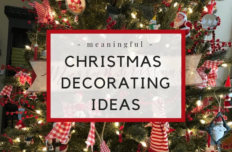 Meaningful Christmas Decorations Vintage Christmas Decorating Ideas #christmasdecorating #christmas #christmasdecorations #vintagesanta #vintagechristmas
