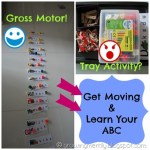 Get Moving & Learn Your ABC