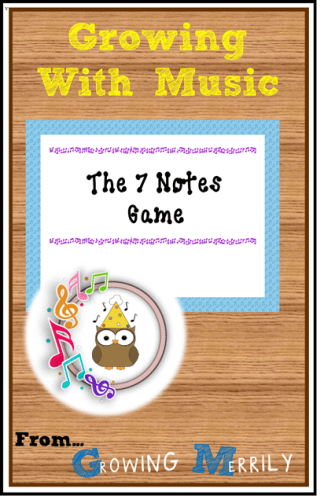 Musical Monday - The 7 Notes Game