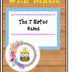 Musical Monday – The 7 Notes Game