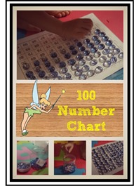 Tinker Bell 100 Number Chart1