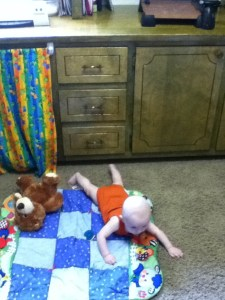 homeschool and baby
