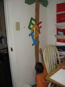 homeschool room decor