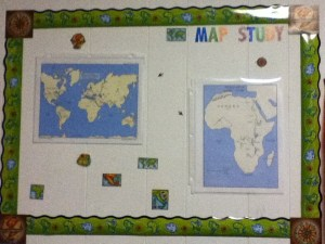 Learning Center map study