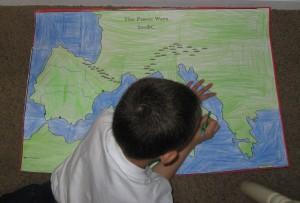 Punic Wars Map and Presentation