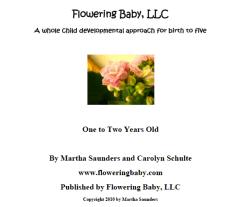 Flowering Baby Curriculum
