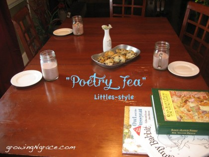Sharing Poetry with little ones