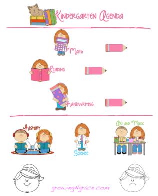 free printable kindergarten