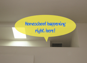 Small Homeschool Spaces