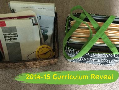 2014-15 Curriculum