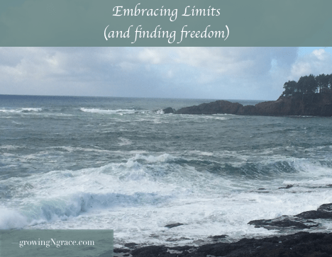 limits | accepting limitations | finding freedom