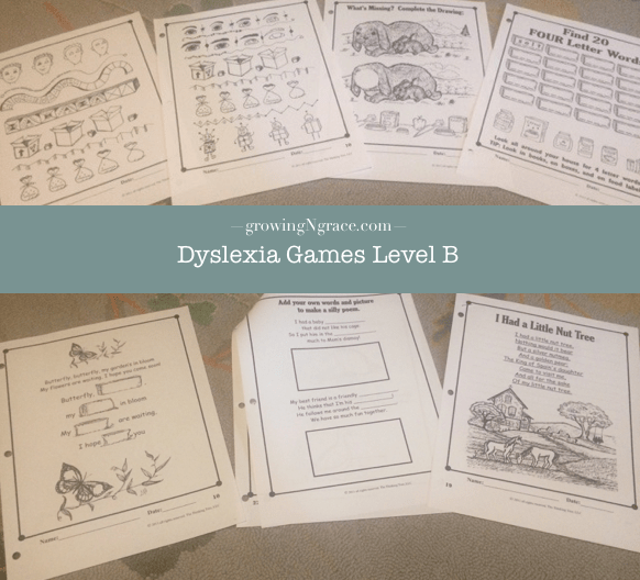 Dyslexia Games review | homeschooling dyslexia | right-brained learners