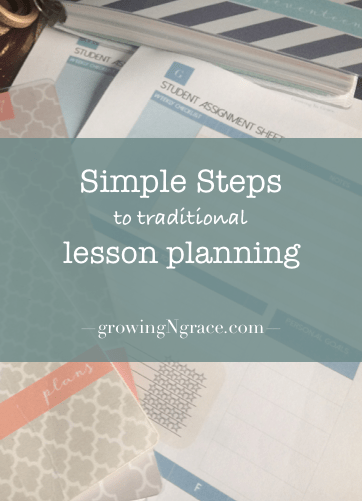 homeschool lesson planning | homeschool planning