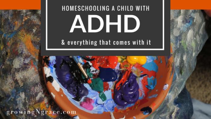 homeschooling ADHD | parenting ADHD