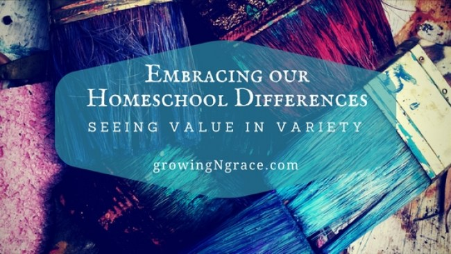 Embracing and supporting homeschool differences | homeschool methods & approaches