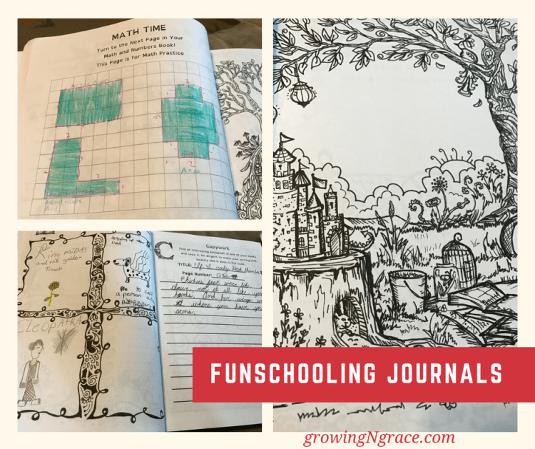 classically homeschooling with funschooling journals | homeschooling curriculum for ADHD, dyslexia