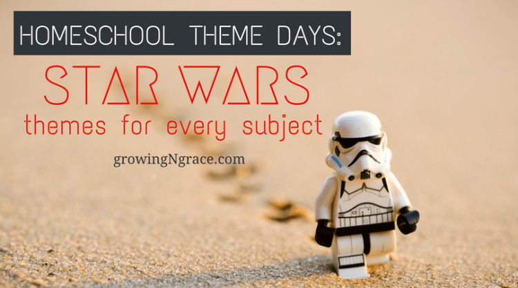 star wars learning ideas | homeschool theme days | hands-on learning