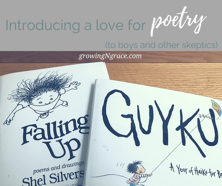 introducing a love for poetry (to boys and other skeptics)