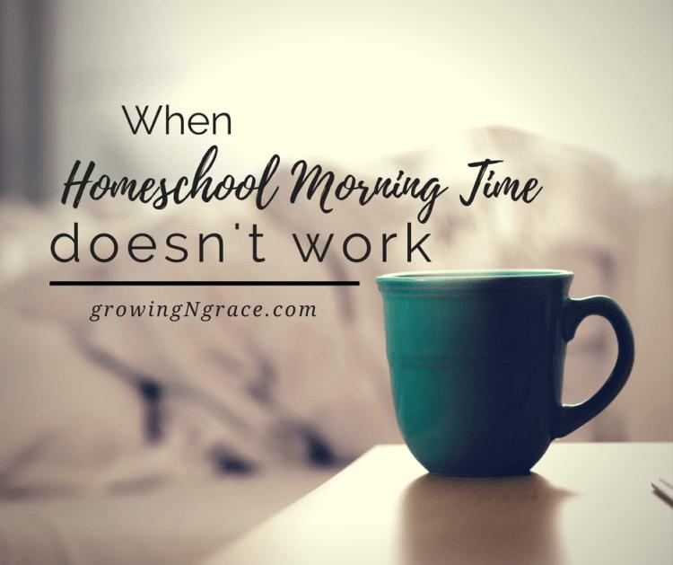 homeschool morning time | homeschool routine