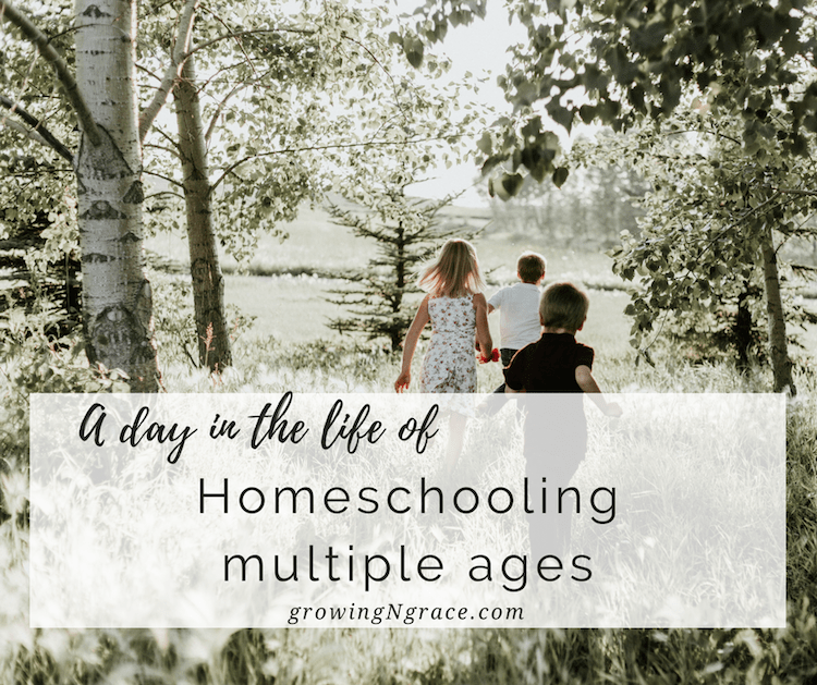 a day in the life of homeschool | homeschooling multiple ages | homeschooling ADHD, dyslexia