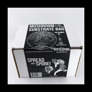 Sterilized Grain Bags with Injection Ports (3lbs) for Mushroom Growing